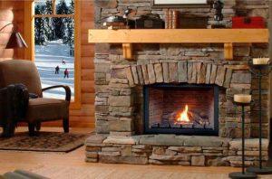 Montigo direct vent gas fireplace